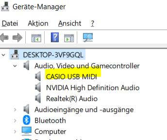 Casio LK-300TV midi driver windows 10   Keyboard Forums
