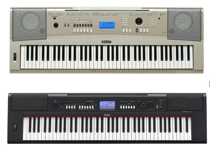 Yamaha npv60 vs ypg238 keyboard forums for Yamaha 88 key digital piano costco